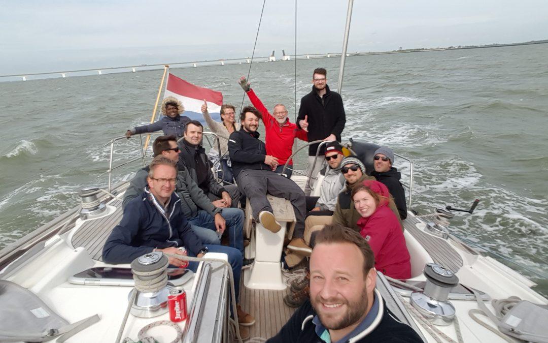 Team spirit on the water with Team MyForce